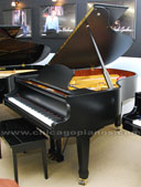 Estonia 190 Ebony Satin Grand Piano from Chicago Pianos . com