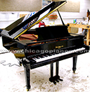 Hallet Davis HS-170 grand piano with QRS player