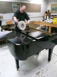 Cordogan's Refinisher Buffing Piano Finish