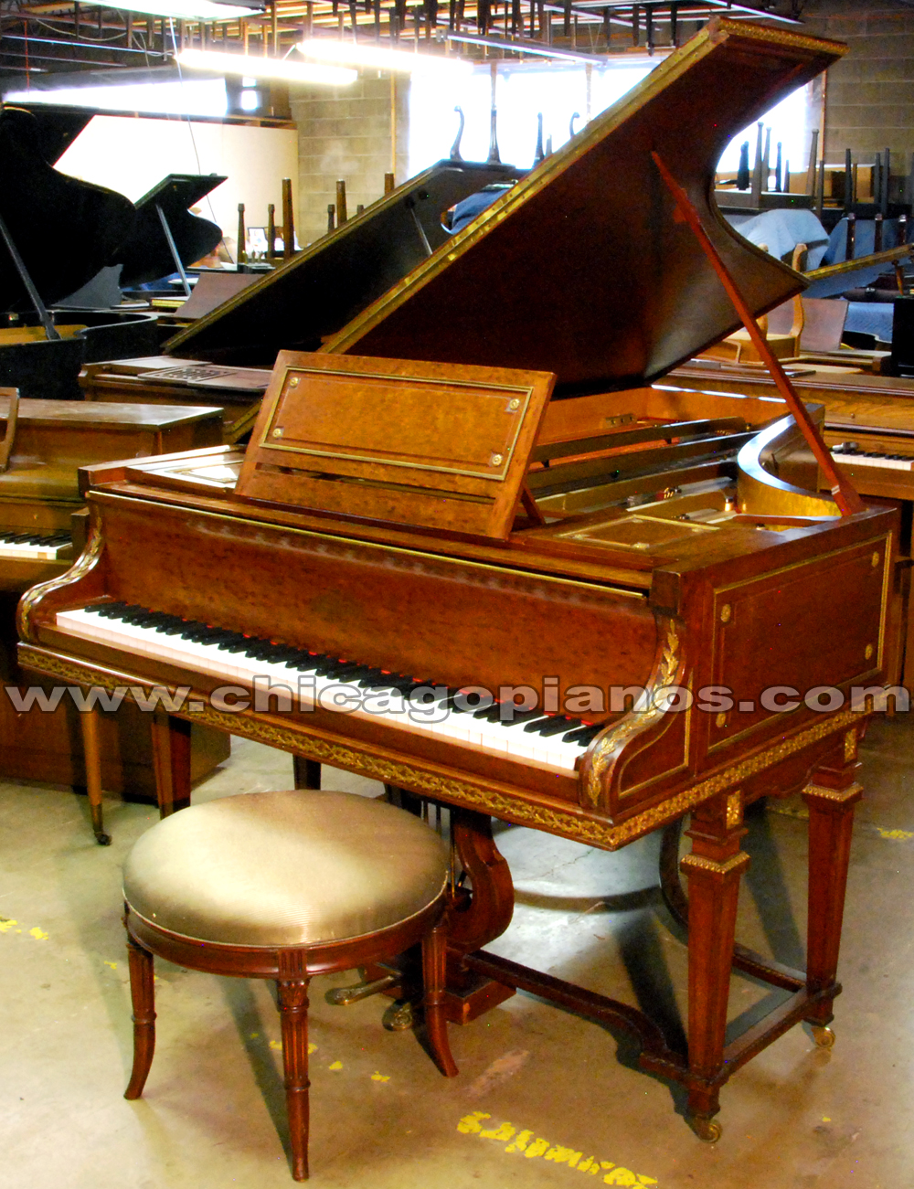 Used Erard Grand Piano from Chicago Pianos . com