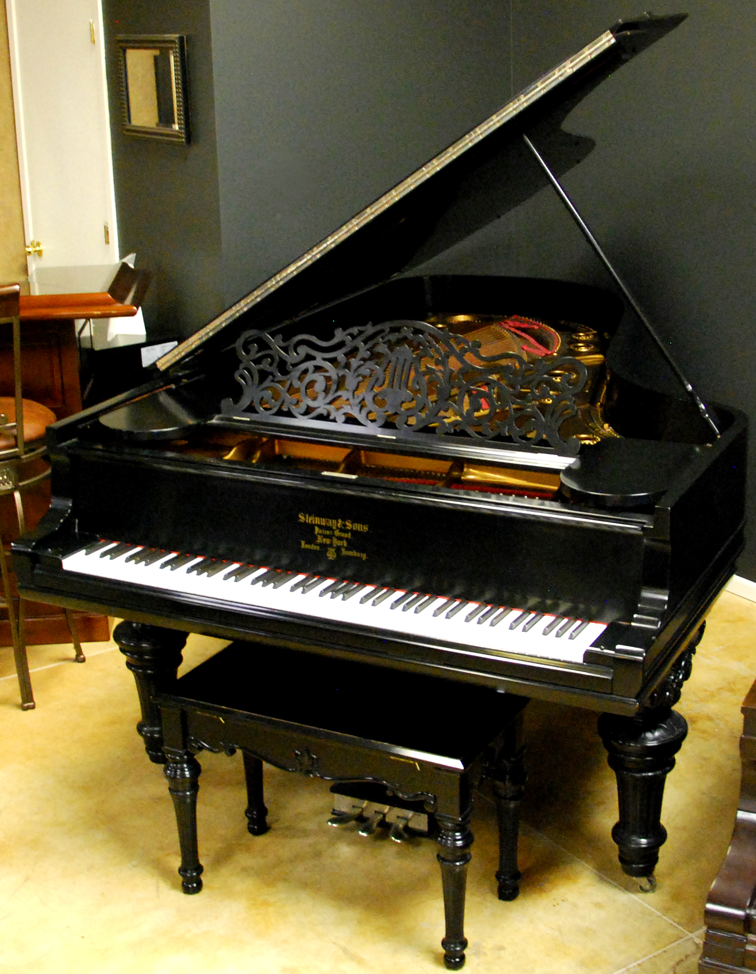 Used Steinway C Grand Piano from Chicago Pianos . com