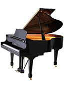 Knabe WG61 traditional grand piano from Chicago Pianos
