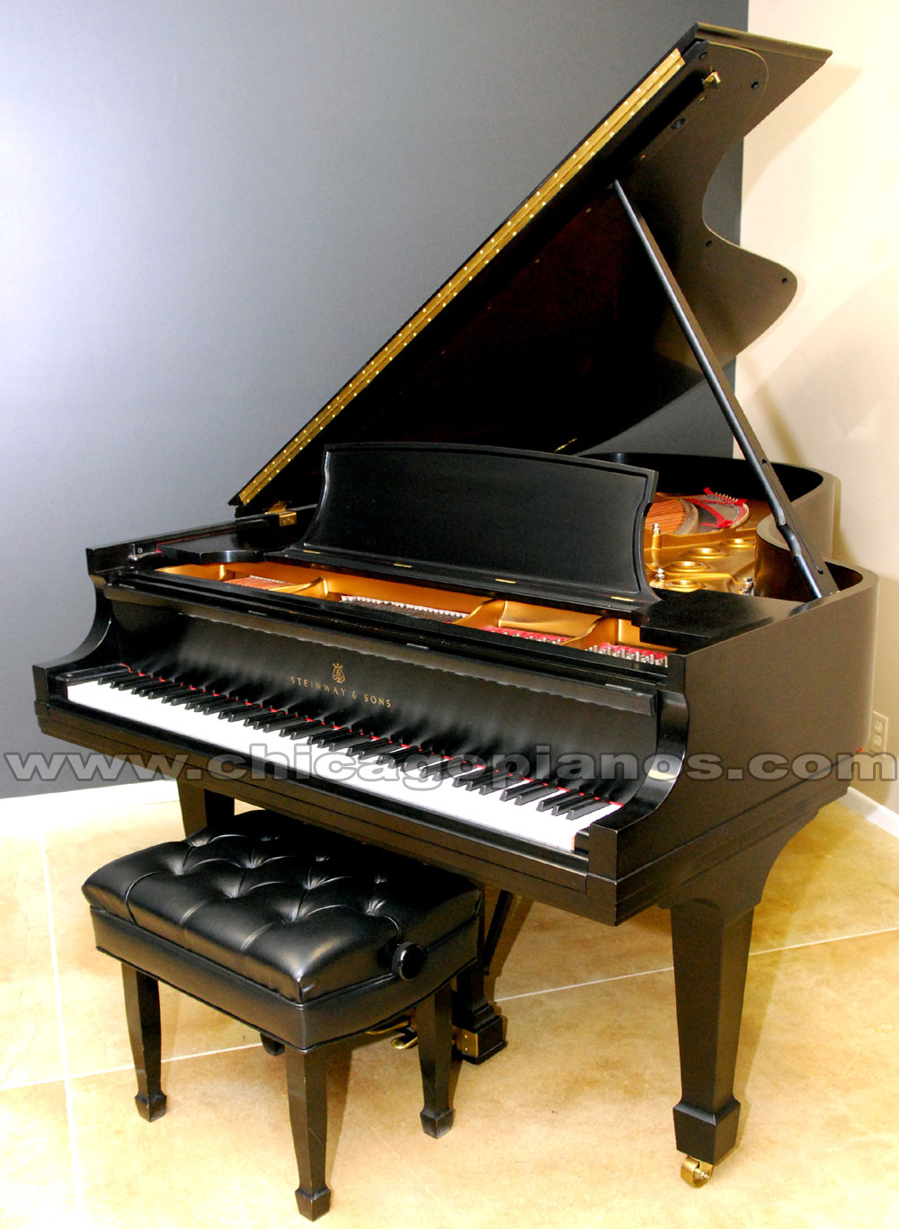 used steinway pianos and reconditioned antique steinway pianos from chicago pianos com. Black Bedroom Furniture Sets. Home Design Ideas